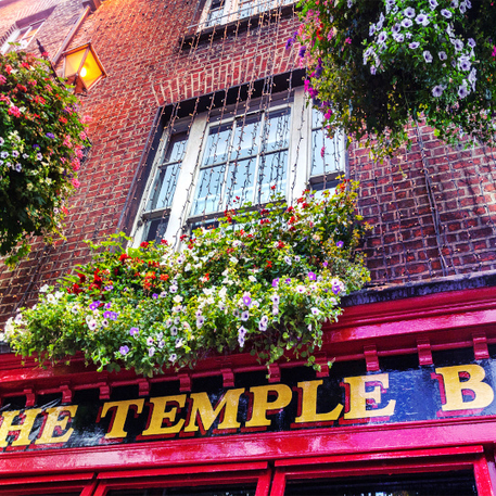 Tempelbar in Dublin